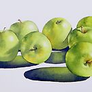 Granny Smiths by Fiona  Lee