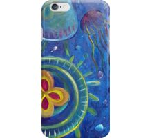 Studio Ghibli inspired Jellyfish iPhone Case/Skin