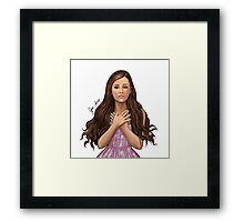 Yours Truly Framed Print