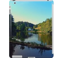 A summer evening along the river | waterscape photography iPad Case/Skin