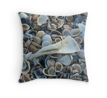 Seashells, Seashells! Throw Pillow