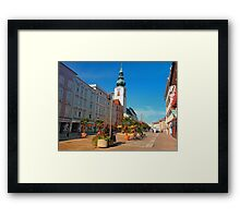 Summer in the city | architectural photography Framed Print