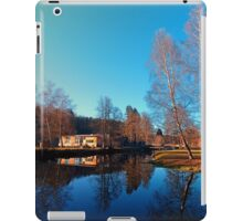 Winter mood on the river II | waterscape photography iPad Case/Skin