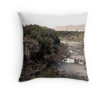 Black Canyon Gorge Throw Pillow