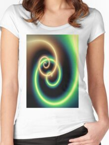 Spiral 4 Women's Fitted Scoop T-Shirt