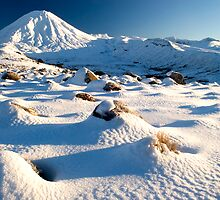 Mount Ngauruhoe,Tongariro National Park 7 by Paul Mercer