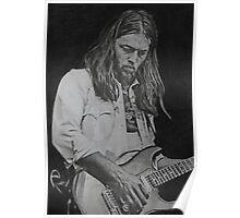David Gilmour Fan art Poster