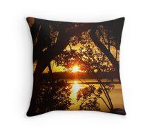 Mangrove Solace Throw Pillow