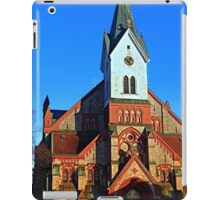 The village church of Aigen | architectural photography iPad Case/Skin