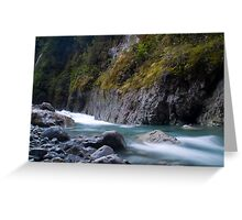 West coast river Greeting Card