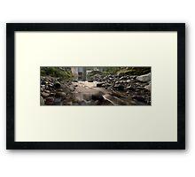 North Island river Framed Print