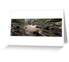 North Island river Greeting Card