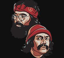 cheech and chong by hazyceltics