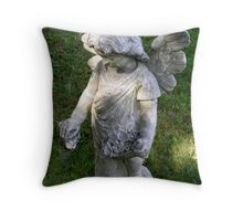 Learn To Fly Angel Throw Pillow