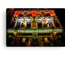 The Sherlock Holmes Hotel, London Canvas Print