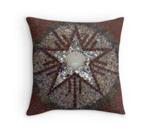 Crop circle Throw Pillow