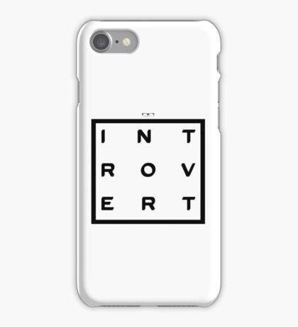 Introvert Square iPhone Case/Skin