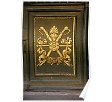 Coat Of Arms Door Poster