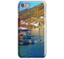 Boats in the harbour | waterscape photography iPhone Case/Skin