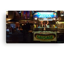 Sweet Italian Sausage Man Canvas Print