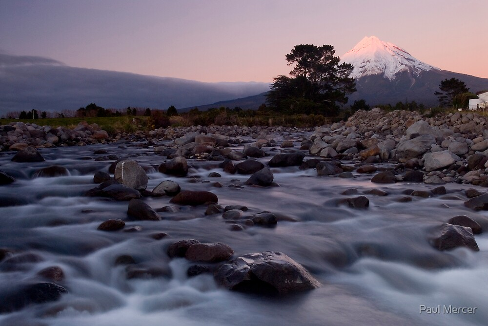 Mount Taranaki 4 by Paul Mercer