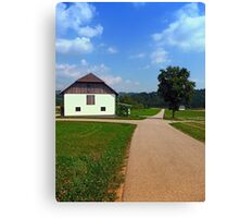 Peaceful countryside scenery | landscape photography Canvas Print
