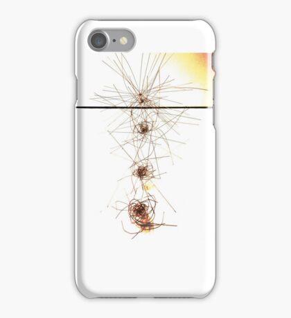 exploding atom iPhone Case/Skin