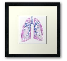 Lungs (Biro) Framed Print
