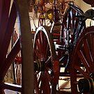 Wheel History II by Jon  Johnson