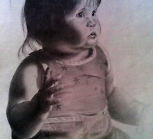 Baby portrait by Cyeclops