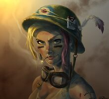 Tank Girl by DanielBDemented