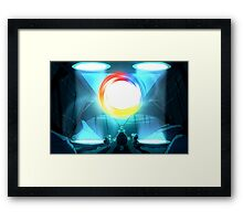 Riddled With Indecision  Framed Print