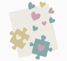 Pastel Lover's Puzzles Kids Clothes