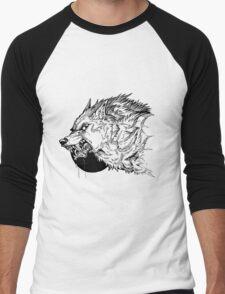 Werewolf moon inks Men's Baseball ¾ T-Shirt