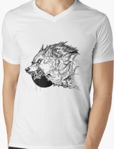 Werewolf moon inks Mens V-Neck T-Shirt
