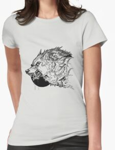 Werewolf moon inks Womens Fitted T-Shirt