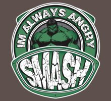 Smash - Im Always Angry Kids Clothes