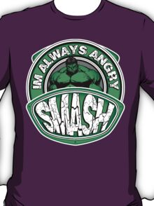 Smash - Im Always Angry T-Shirt