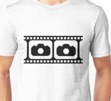 Film strip camera large Unisex T-Shirt