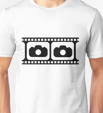 Film strip camera large Unisex T-Shirt