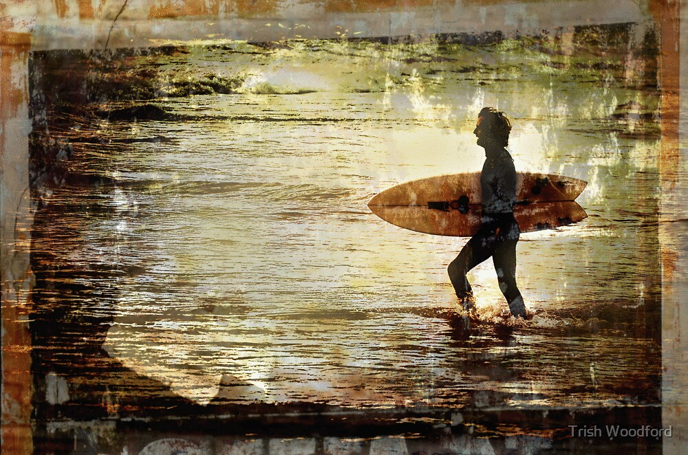 Vintage Surf by Trish Woodford