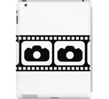 Film strip camera large iPad Case/Skin