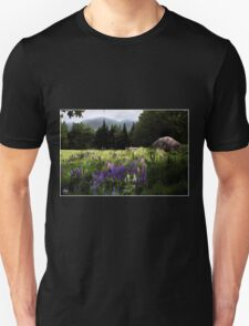 Lupine in the Shadow of Cannon Unisex T-Shirt