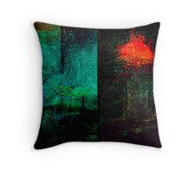 ancient surfaces...9th phase Throw Pillow
