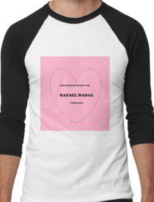 rafael love Men's Baseball ¾ T-Shirt