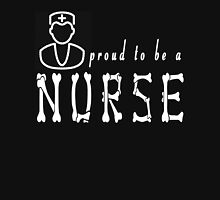 PROUD TO BE A NURSE Womens Fitted T-Shirt