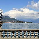 A terrace on the lake by annalisa bianchetti