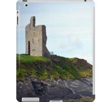 ballybunion castle on the cliffs of a beautiful beach iPad Case/Skin