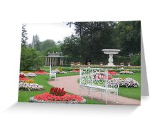 The Catherine Palace Park Greeting Card