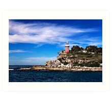 The Hornby Lighthouse at South Head Art Print